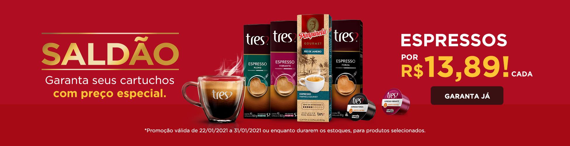 Saldão TRES - Espressos